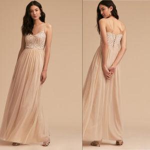 BHLDN Elowen Dress Oyster, Size 0